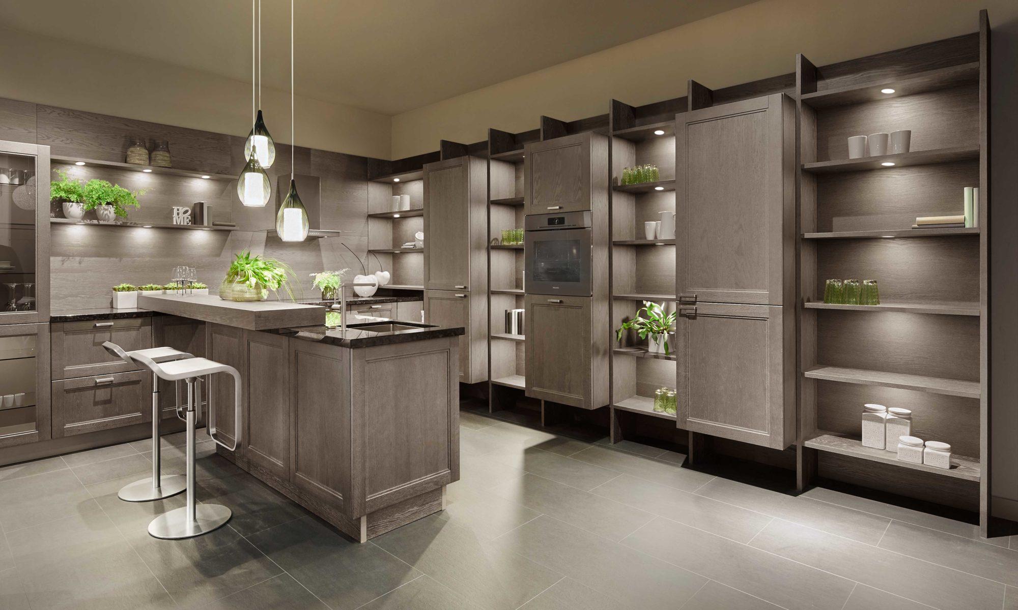 Sachsen Küchen, Glas, Design, Casa, grau, Design