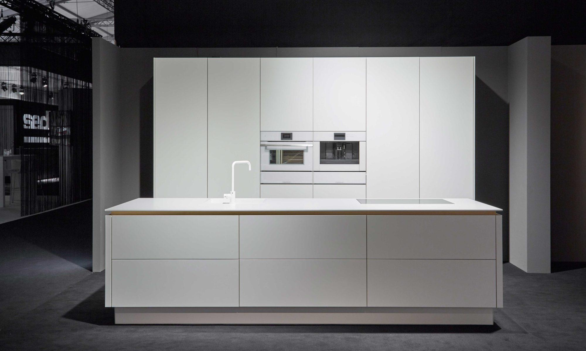 BAX, Küche, modern, Design, weiß, clean