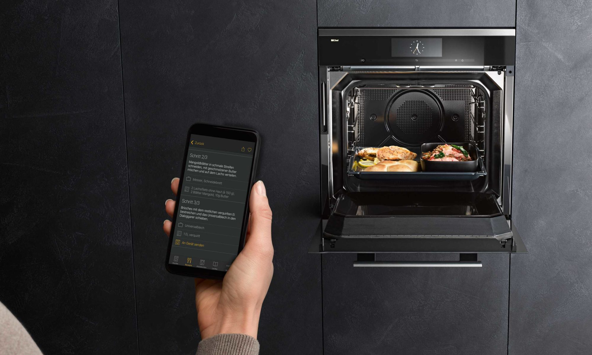 Miele Dialoggarer, Backofen, Smart Home, Fernsteuerung, Kochen, Innovation